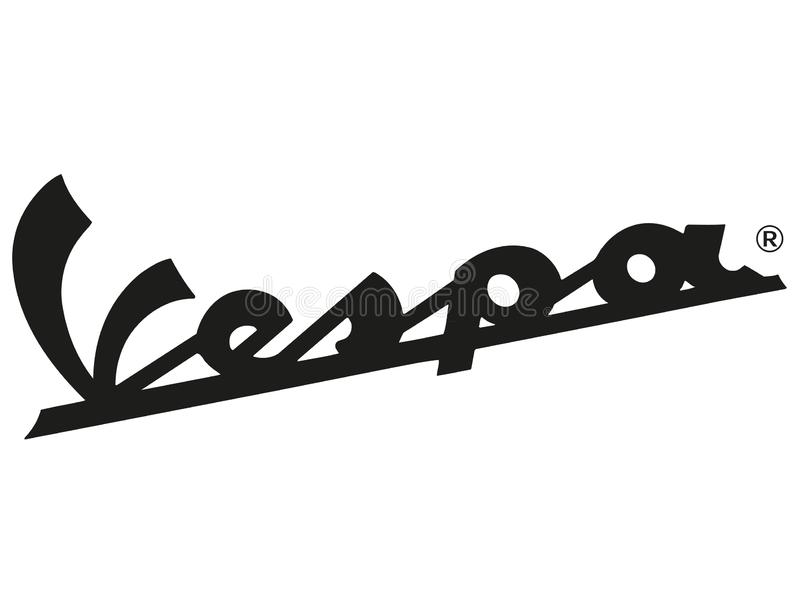 Logo Vespa vector illustration