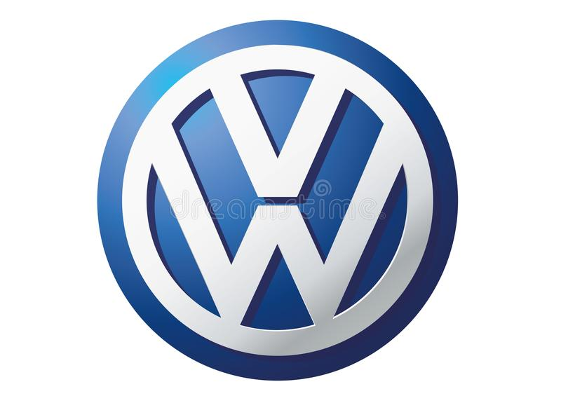 Logo Volkswagen. Car color vector format aviable ai
