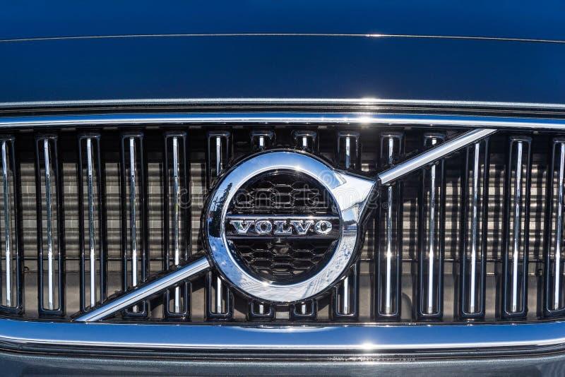 Logo Volvo zdjęcie royalty free