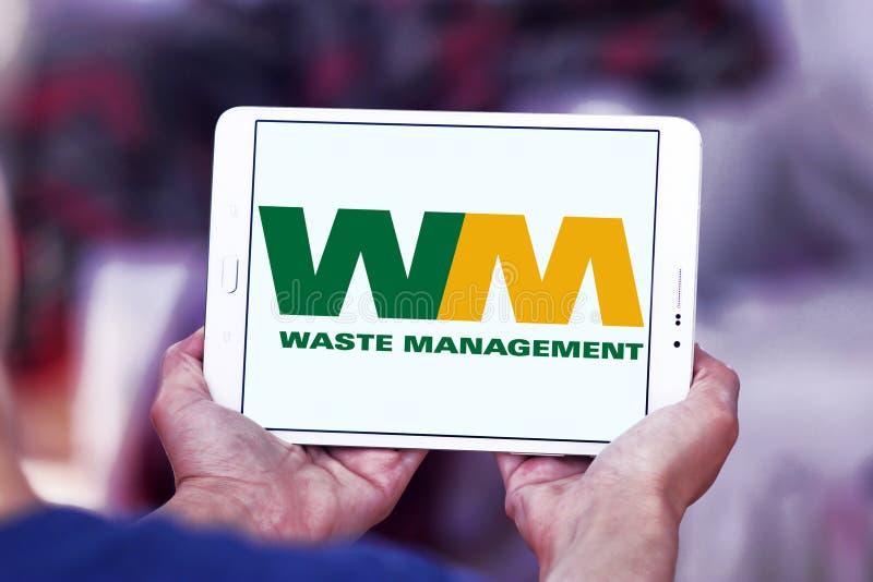 Waste Management company logo. Logo of Waste Management company on samsung tablet. Waste Management, Inc. is an American waste management, comprehensive waste stock photography