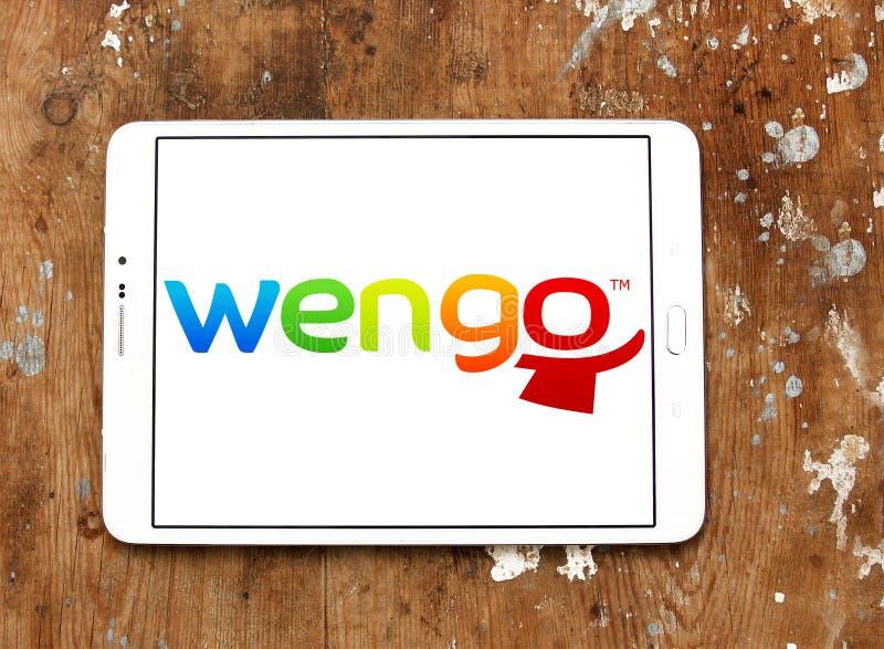 Wengo company logo editorial stock image  Image of logos