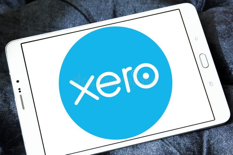 Logo Xéro. de société photos stock