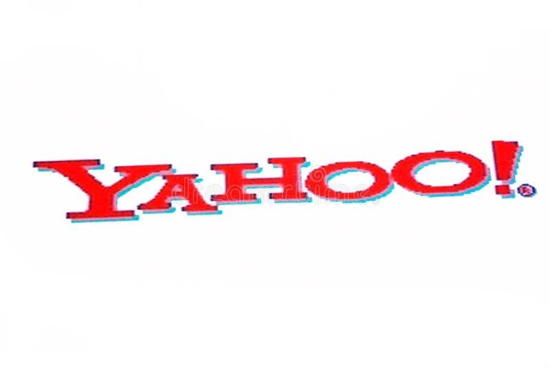 logo Yahoo zdjęcia stock