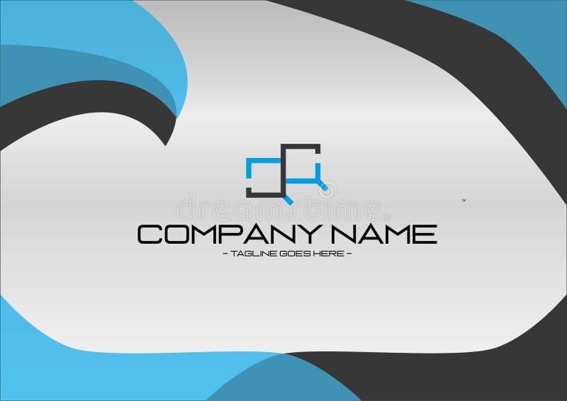 Logo For Your Company profissional moderno ilustração do vetor