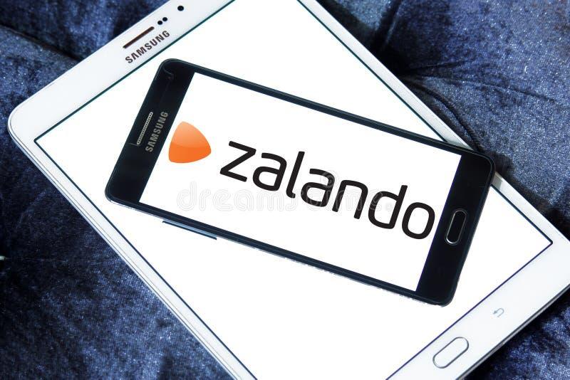 Zalando retailer logo. Logo of Zalando retailer on samsung mobile. Zalando SE is a German electronic commerce company seated in Berlin. The company maintains a royalty free stock photos