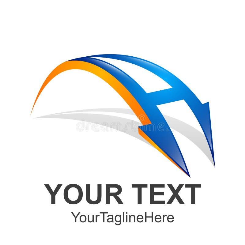 Logo, Zusammenfassung, Logo-Ikonenmonogramm der Weinlese im altem Stil Beschriften Sie A L lizenzfreie abbildung