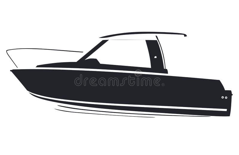 Logoboat illustration de vecteur