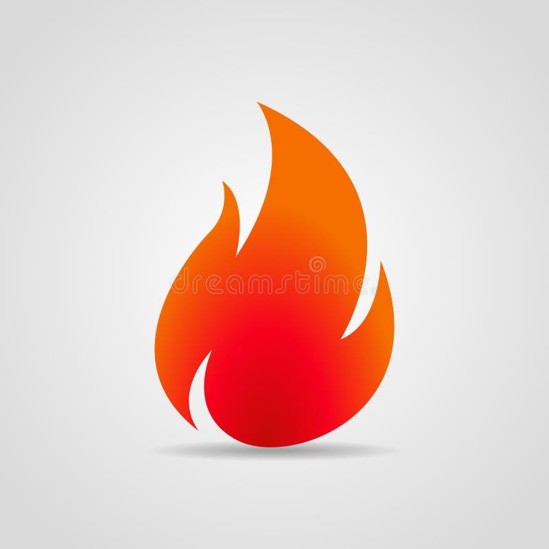 Logobrand med skugga på en grå bakgrund också vektor för coreldrawillustration vektor illustrationer