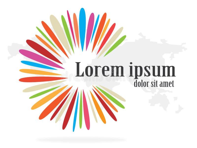 Logodesign vektor illustrationer