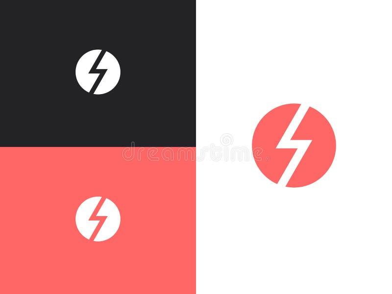 Logodesignmall 01 vektor illustrationer
