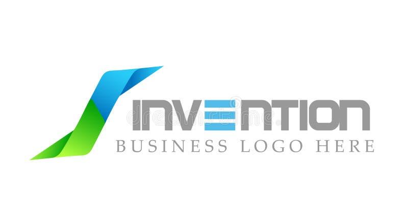 Logoen pilar formade två riktningar som fokuserades på företags, investerar affärslogodesign För logotypbegrepp för finansiell in stock illustrationer