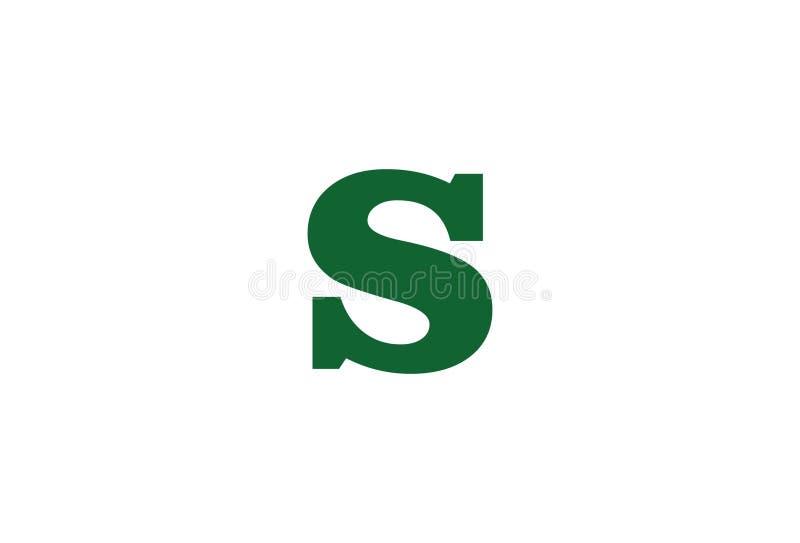 Logoentwurf des Alphabetbuchstaben s vektor abbildung