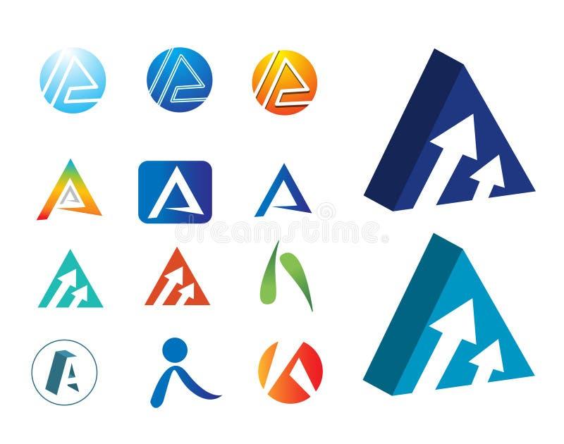 logoer vektor illustrationer