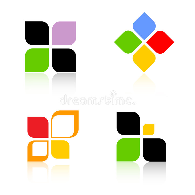 logoer stock illustrationer