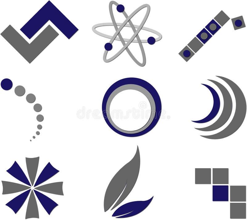 Download Logoer vektor illustrationer. Illustration av logo, fläck - 7782811
