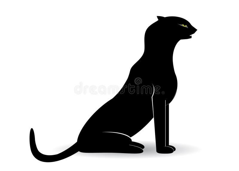 logoleopard royaltyfri illustrationer