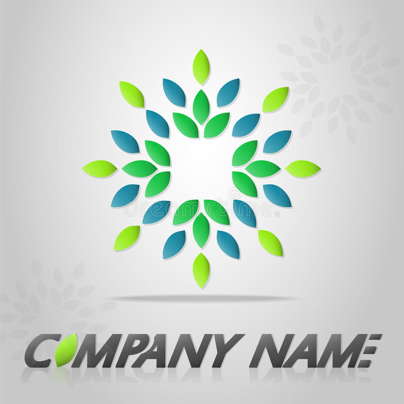Logomall arkivbild