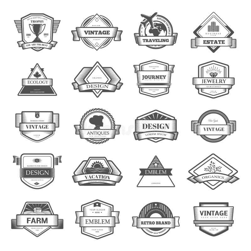 Logomall stock illustrationer