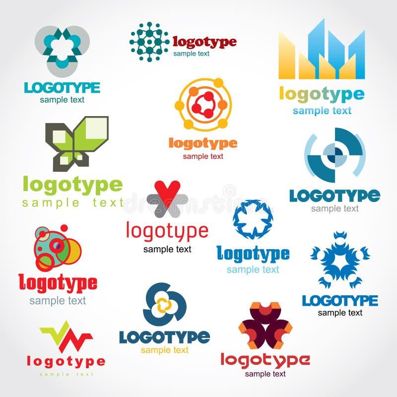 logomall royaltyfri illustrationer