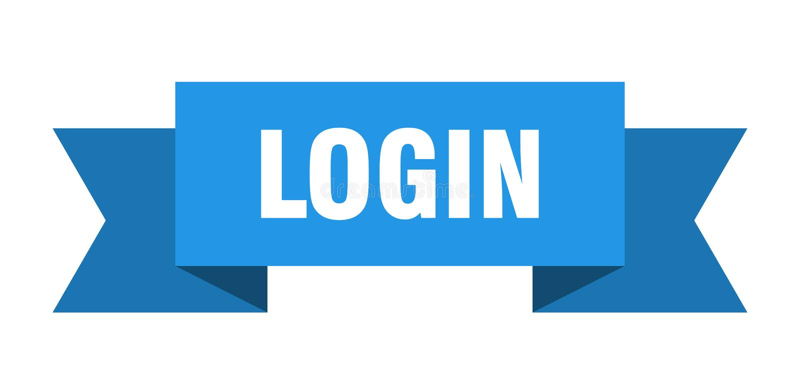 LOGON-Band vektor abbildung
