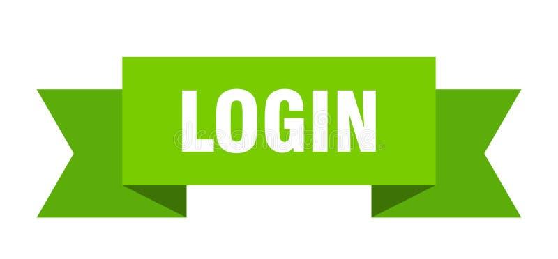 LOGON-Band lizenzfreie abbildung