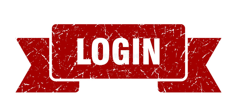 LOGON-Band stock abbildung