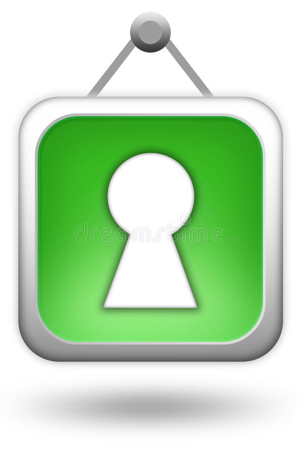 LOGON-Ikone stock abbildung