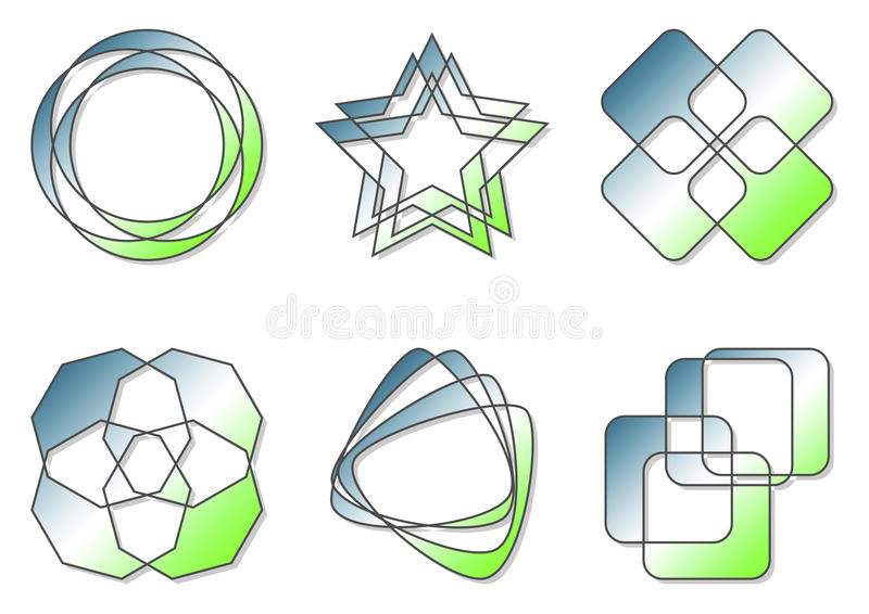 Download Logos stock vector. Illustration of element, promote - 11192457