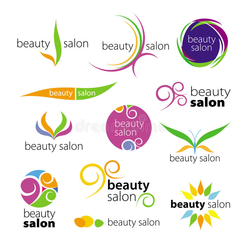 Download Logos beauty salons stock vector. Illustration of salon - 30754589