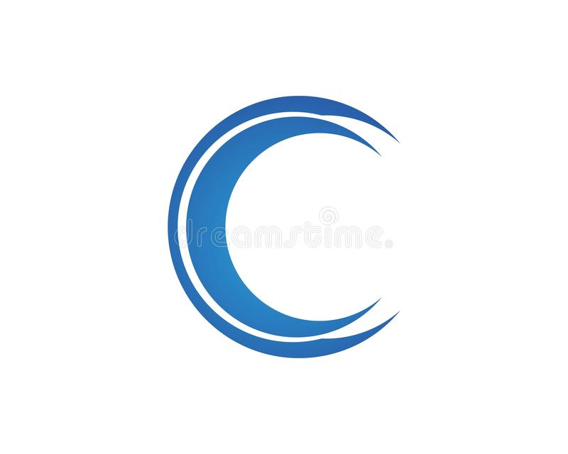 Logos C Symbols And C Letter Stock Vector Illustration Of Part