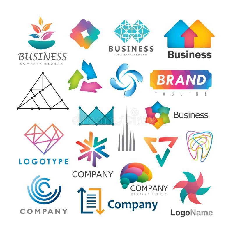 Logos d'affaires illustration libre de droits