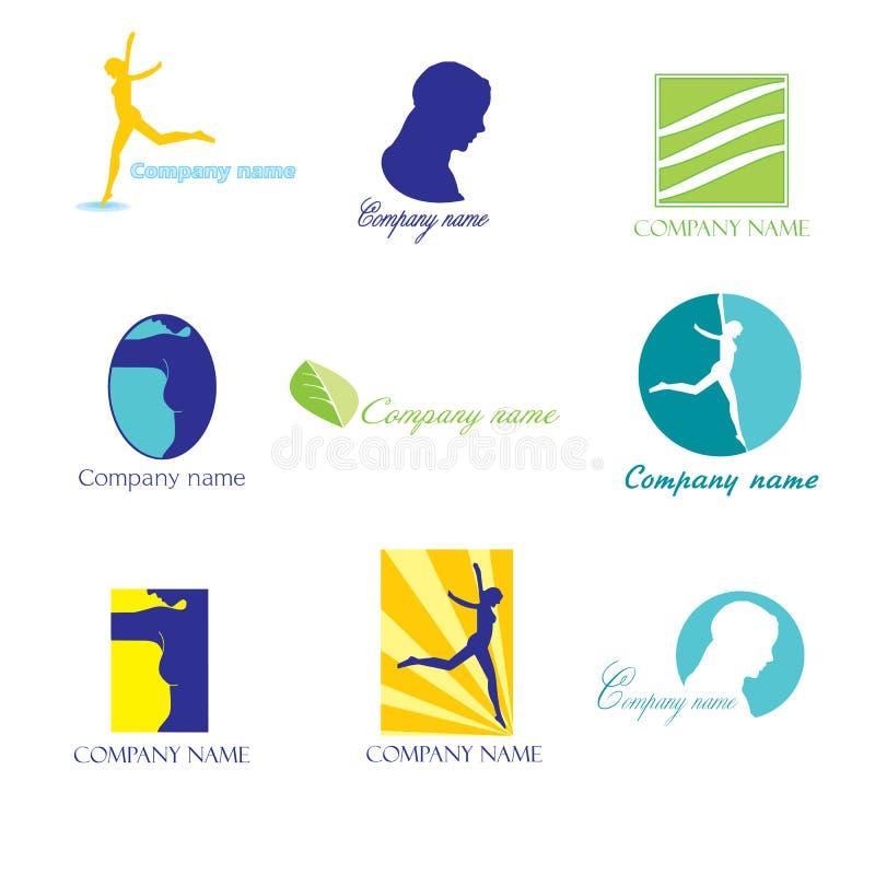 Logos de beauté illustration libre de droits