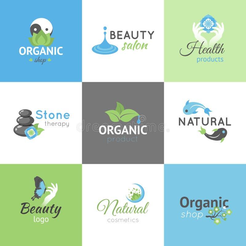 Logos de conception de beauté illustration de vecteur