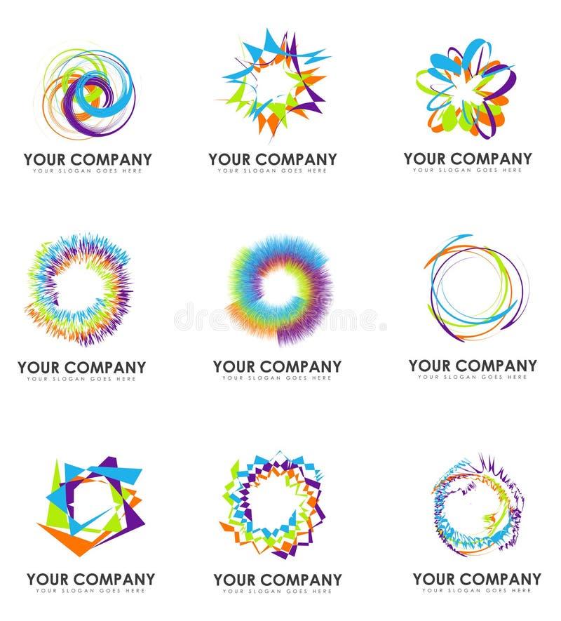 Logos de société illustration libre de droits