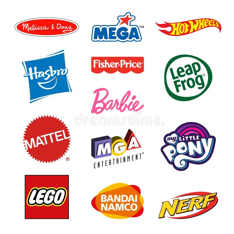 Logos de société de producteurs de jouet