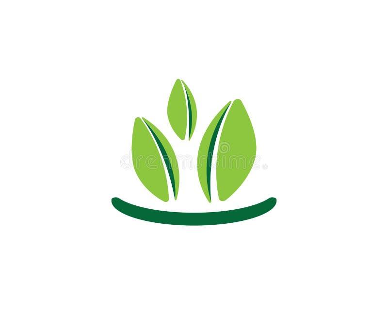 Logos de vert illustration libre de droits