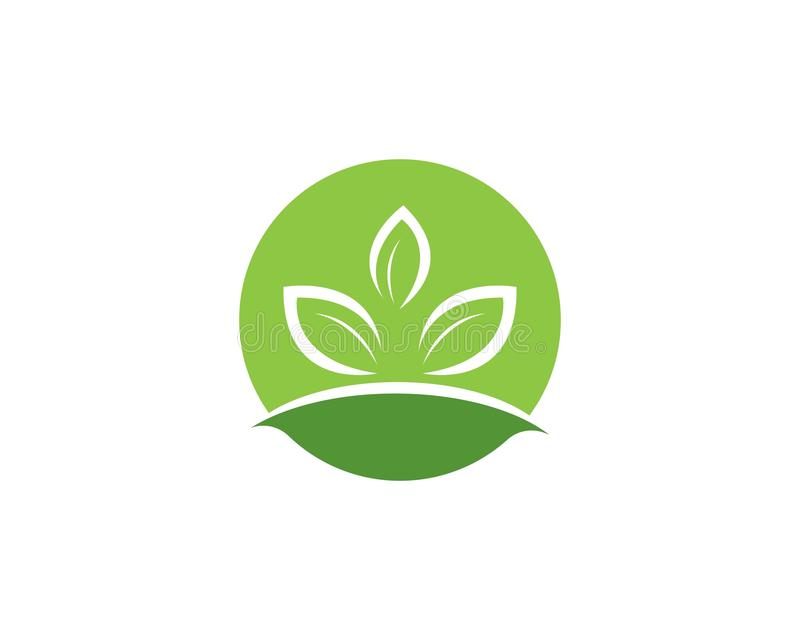 Logos of green leaf ecology nature element vector icon.  stock illustration