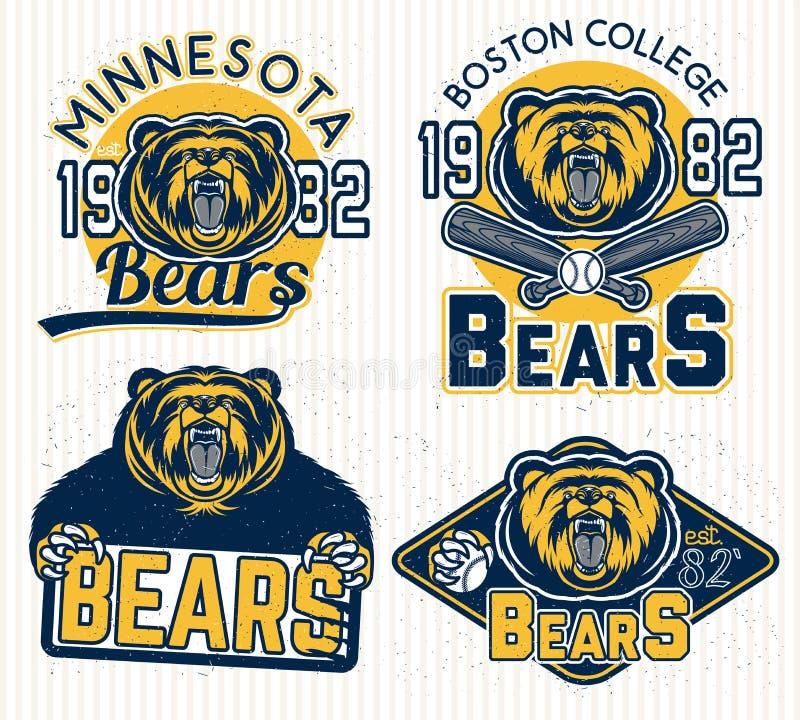 Logos pour le sport illustration libre de droits