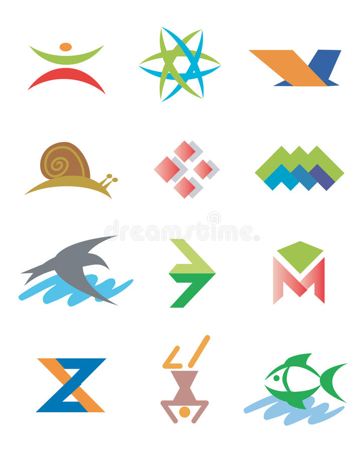 Download Logos_Symbols_icons_signs stock vector. Illustration of corporate - 11441675