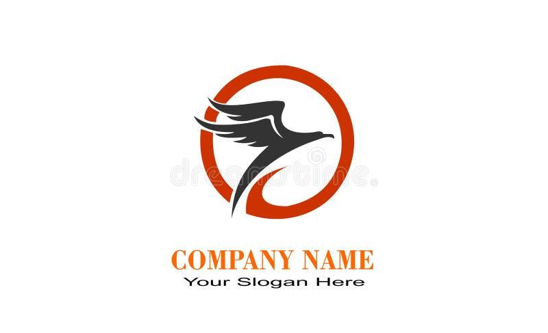 Logotipo único creativo del diseño de EAGLE libre illustration