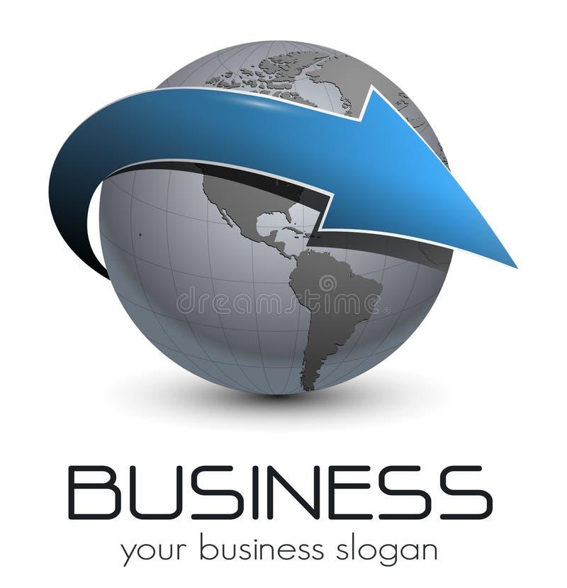 Logotipo. ilustração royalty free
