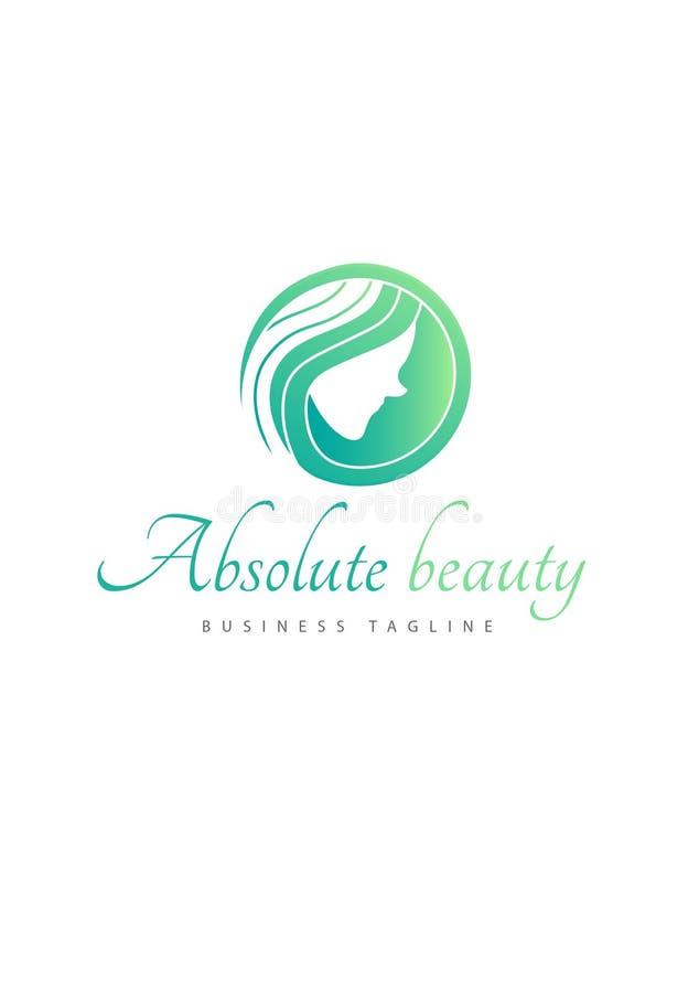Logotipo absoluto da beleza ilustração do vetor