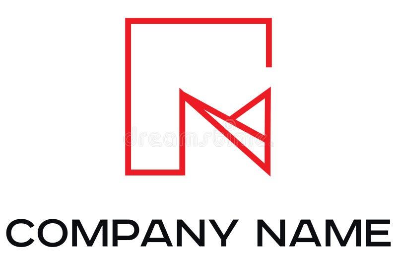Logotipo abstracto del vector del edificio libre illustration