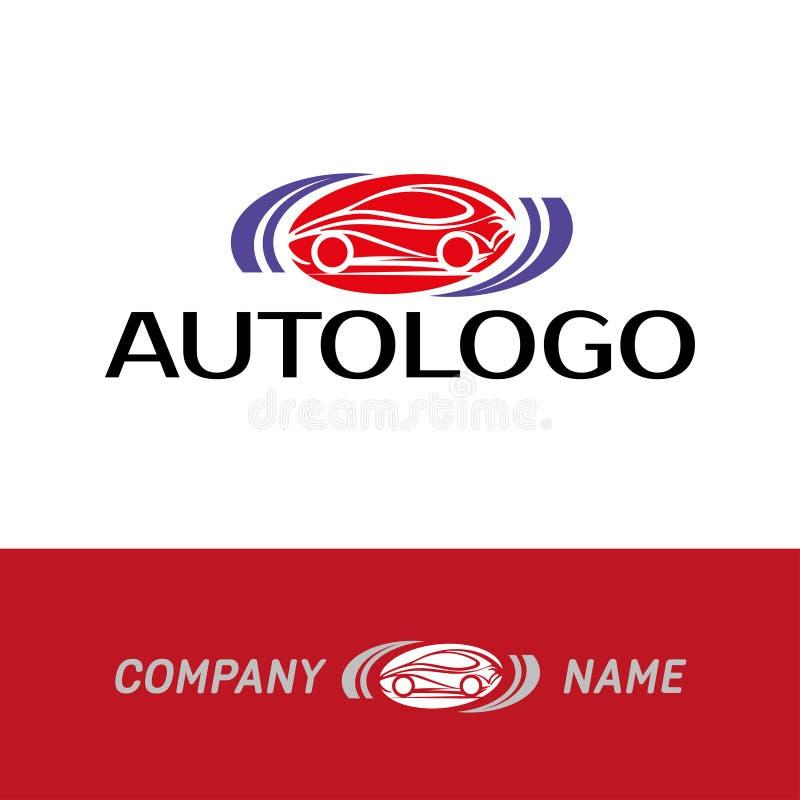 Logotipo auto del extracto del coche stock de ilustración