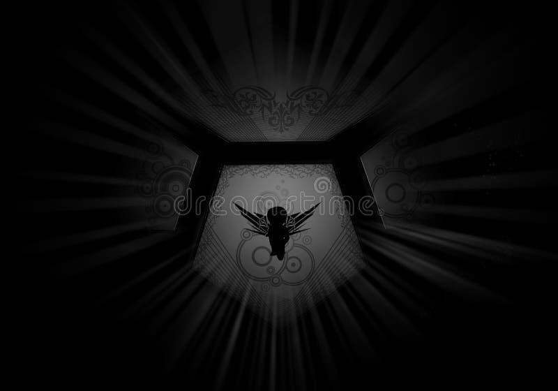 Logotipo bajo la forma de tejas fotografía de archivo
