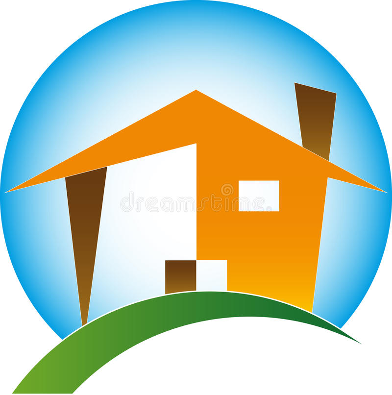 Logotipo casero libre illustration