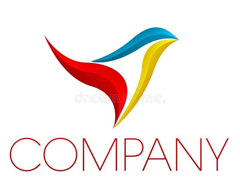 Logotipo corporativo ilustração do vetor