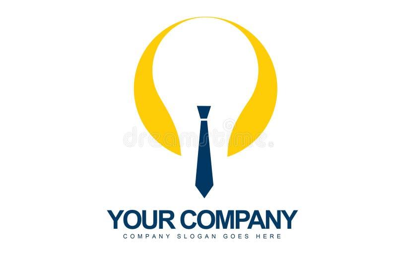 Logotipo creativo do conceito ilustração royalty free