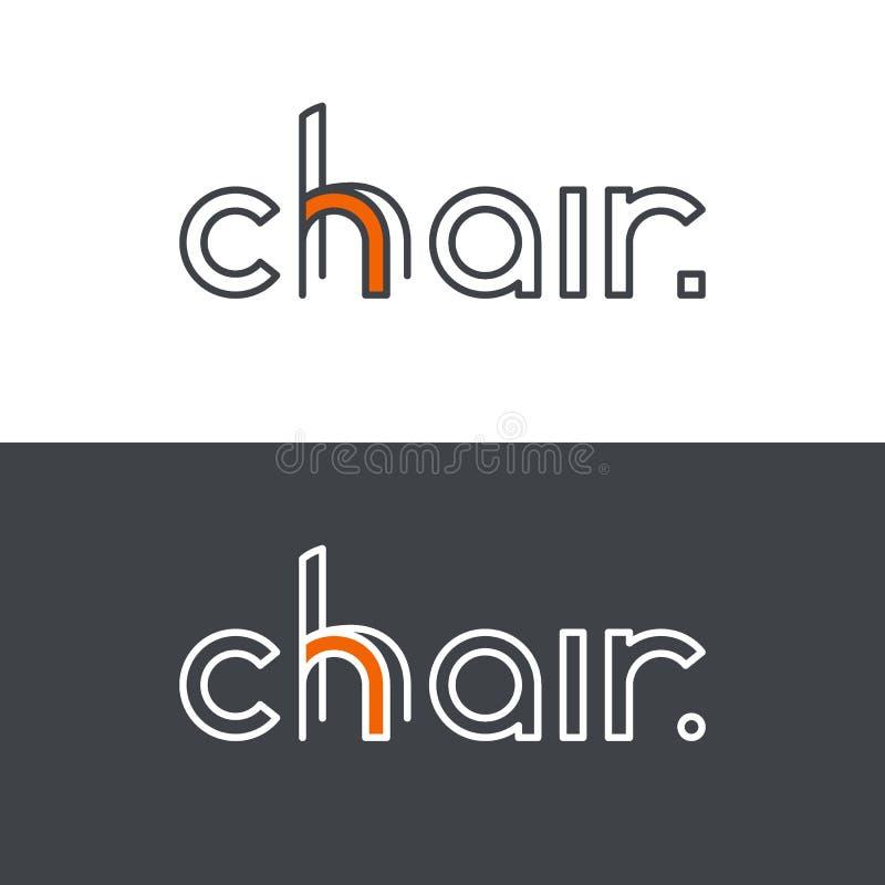 Logotipo creativo, identidad de marca ilustración del vector