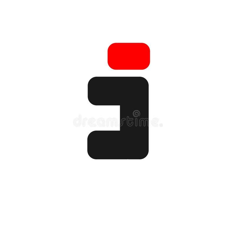Logotipo criativo das letras para a empresa e o neg?cio ilustração stock